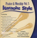 Karaoke Style: Praise and Worship, Vol. 5