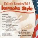 Karaoke Style: Patriotic Favorites, Vol. 2 image
