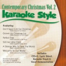 Karaoke Style: Contemporary Christmas, Vol. 2