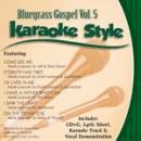 Karaoke Style: Bluegrass Gospel, Vol. 5 image