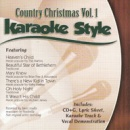 Karaoke Style: Country Christmas, Vol. 1